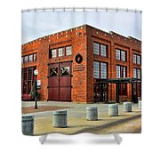 The Roundhouse Evanston Wyoming - 1 Shower Curtain