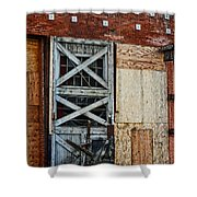 The Roundhouse Evanston Wyoming - 2 Shower Curtain