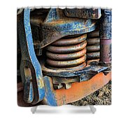 The Roundhouse Evanston Wyoming Dining Car - 2 Shower Curtain