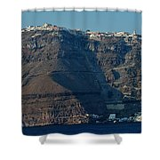 The Route Up Shower Curtain