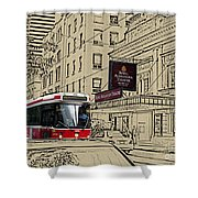 The Royal Alex On King Street Shower Curtain