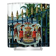 The Royal Seal Of Hawaii Shower Curtain