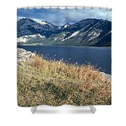 The Rugged Yukon Shower Curtain
