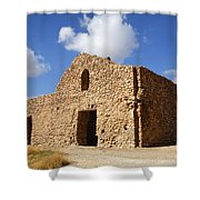 The Ruin Of Takht I Soleiman In Iran Shower Curtain