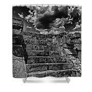 The Ruins Of Chichen Itza V2 Shower Curtain