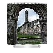 The Ruins Of St Andrews Cathedral Shower Curtain