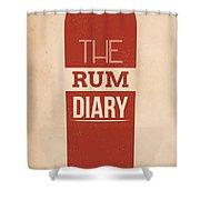 The Rum Diary Shower Curtain