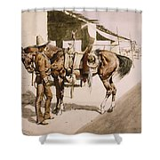 The Rural Guard Mexico Shower Curtain