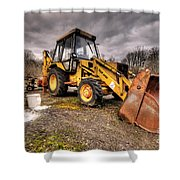 The Rusty Digger Shower Curtain