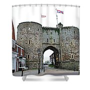 The Rye Landgate  Shower Curtain