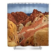 Valley Of Fire Nevada 1 Shower Curtain