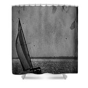 The Sailboat Shower Curtain