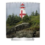 The Sailor's Signpost Shower Curtain