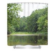 The Salt Fork River Shower Curtain