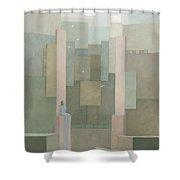 The Salt Palace Shower Curtain