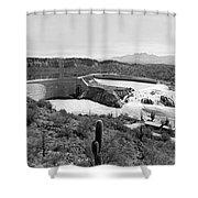 The Salt River In Arizona Shower Curtain