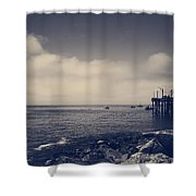 The Salty Air Shower Curtain