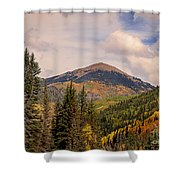 The San Juan National Forest Shower Curtain