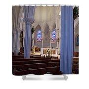 The Sanctuary  Shower Curtain