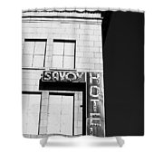 The Savoy Hotel Shower Curtain