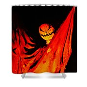 The Scarecrow Shower Curtain