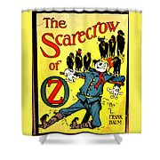 The Scarecrow Of Oz Shower Curtain