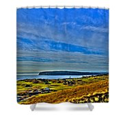 The Scenic Chambers Bay Golf Course II - Location Of The 2015 U.s. Open Tournament Shower Curtain