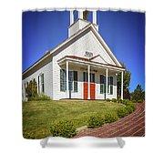 The Schoolhouse Shower Curtain
