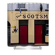 The Scottsmans Bar - Donegal Ireland Shower Curtain