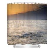 The Sea Before The Rain Shower Curtain