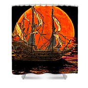 The Sea Of Broken Dreams Shower Curtain