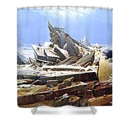The Sea Of Ice Polar Sea Shower Curtain