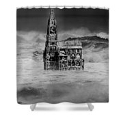 The Sea Of Remembrance Shower Curtain