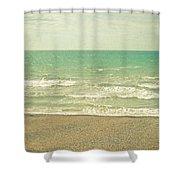 The Sea The Sea Shower Curtain