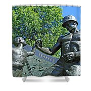 The Seabees At Arlington Shower Curtain