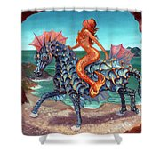 The Seamaid's Fantasy Shower Curtain