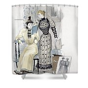 The Season, Fashion Plate For The Shower Curtain