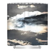 The Secret Sky Shower Curtain