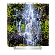 The Seduction Of Water Shower Curtain