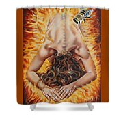 The Seven Spirits Series - The Spirit Of The Fear Of The Lord Shower Curtain