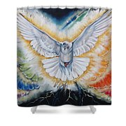The Seven Spirits Series - The Spirit Of The Lord Shower Curtain