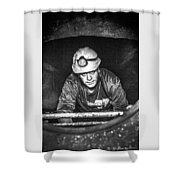 The Sewer Guy Shower Curtain