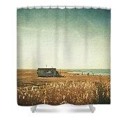 The Shack - Lbi Shower Curtain