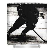 The Shadows Of Hockey Shower Curtain