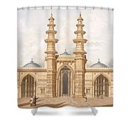 The Shaking Minarets Of Ahmedabad Shower Curtain