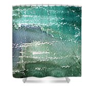 The Shallow End Shower Curtain