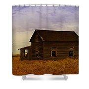 The Shambles Of Dreams Gone By Shower Curtain by Jeff Swan