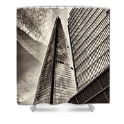 The Shard - The View Shower Curtain