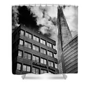 The Shard From Tooley Street Shower Curtain