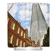 The Shard In London Shower Curtain